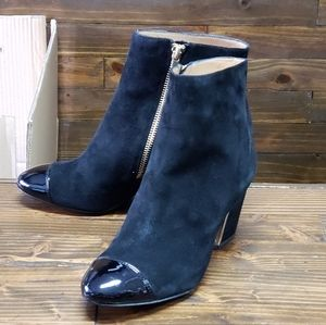 Calvin Klein Suede Ankle Boots Size 7.5
